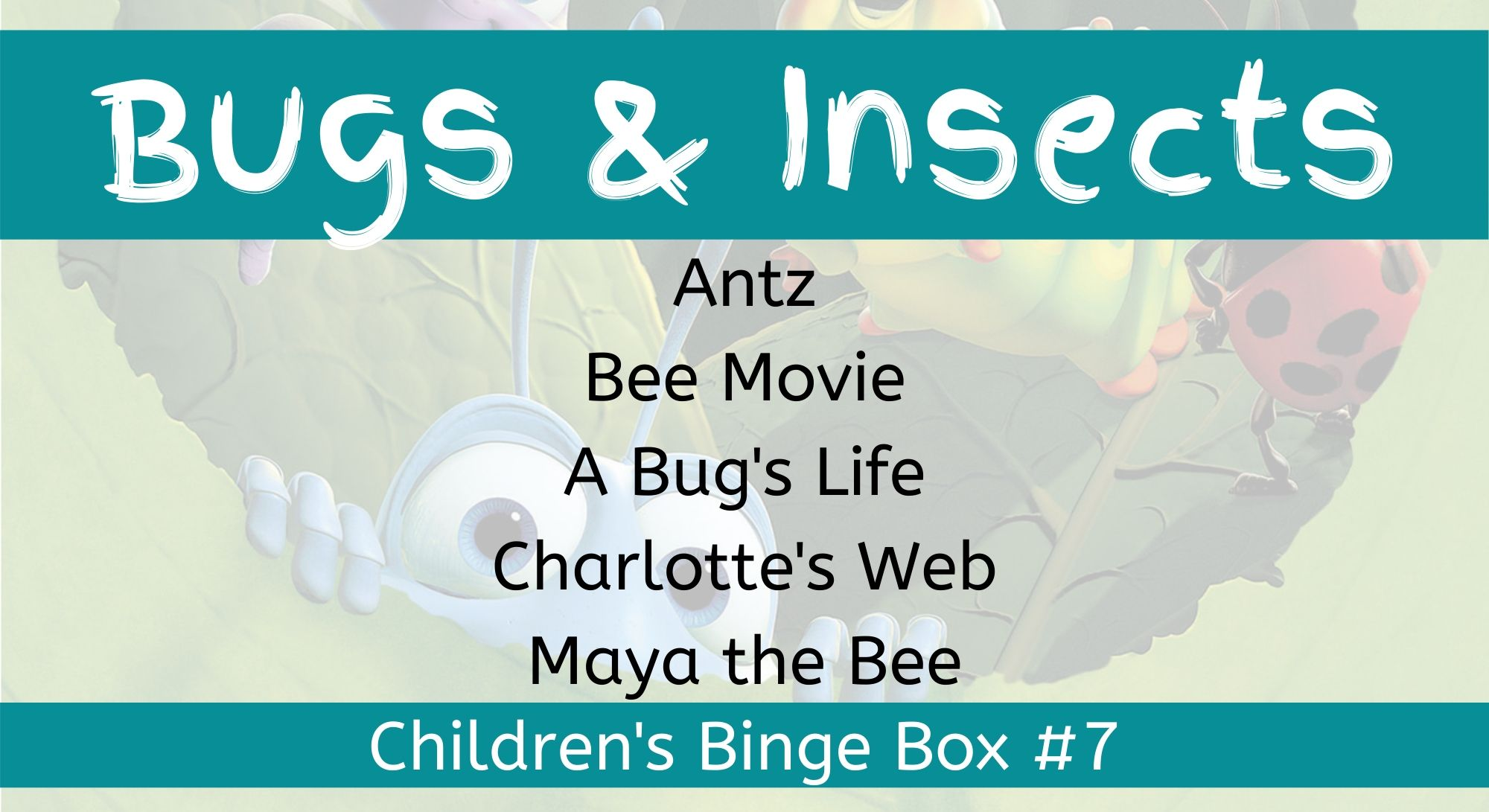 Bugs And Insects Children's Binge Box